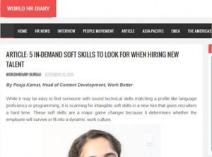5 In-demand Soft Skills to Look for When Hiring New Talent