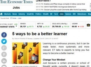 5 ways to be a better learner