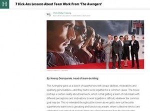 7 Kick-Ass Lessons About Team Work From 'The Avengers'