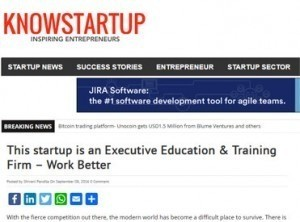 This startup is an Executive Education  Training Firm