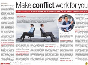 Make conflict work for you