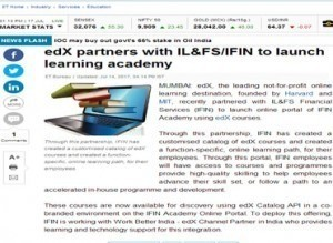 EdX partners with IL&FS/IFIN to launch learning academy