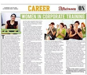Women in Corporate Training