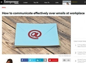 How to communicate effectively over emails at workplace