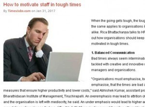 How to motivate staff in tough times 2
