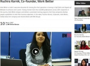 Ruchira Karnik, Co-founder,WorkBetter