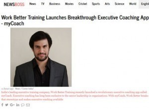 Work better training launches breakthrough executive coaching app mycoach