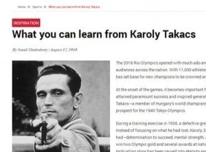 What you can learn from karoly takacs
