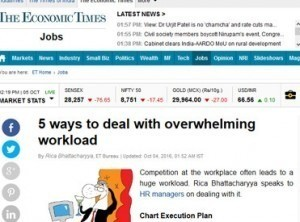 5 ways to deal with overwhelming workload