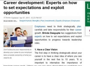 Experts on how to set expectations and exploit opportunities