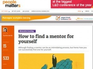 How to find a mentor for yourself