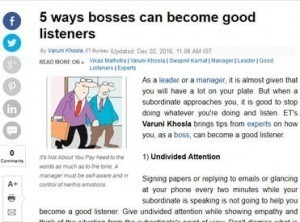 5 Ways bosses can becomes good listeners