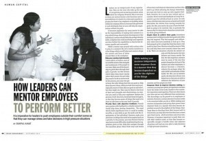 How Leaders can mentor Employees to perform better