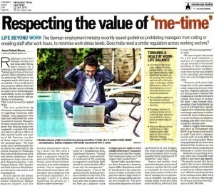 Respecting the value of me-time