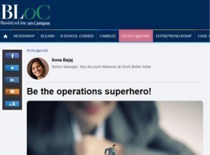 Be the operations superhero!