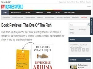 Book Review: The eye of the fish