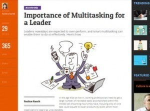 Importance of Multitasking for a Leader