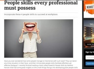 People skills every professional must possess